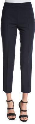 Akris Punto Franca High-Waist Cropped Pants