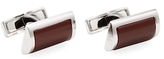 Canali D-Shaped Rectangular Cufflinks