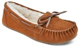 Women's Chaia Suede Moccasin Slippers - Mossimo Supply Co.
