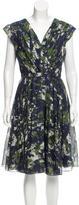 Jason Wu Printed Sleeveless Dress