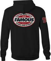 Famous Stars & Straps Men's Raceway Zip Up Hoodie-XL