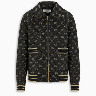 Gucci GG pattern zip-up cardigan