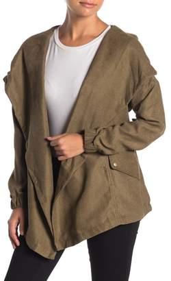 FAVLUX Shawl Collar Cargo Jacket