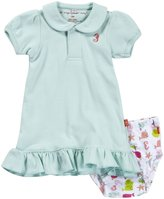 Magnificent Baby 'Nantucket' Dress & Diaper Cover (Baby) - Blue-6 Months