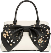 Betsey Johnson Big Bow Large Satchel