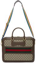 Gucci Beige Gg Supreme gucci Echo Briefcase
