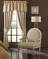 "Waterford Anya 18"" x 55"" Tailored Window Valance"