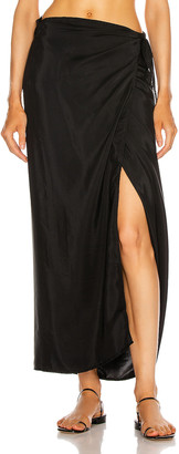 Natalie Martin Talia Skirt in Black | FWRD