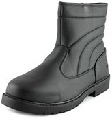 totes Suburb Men Round Toe Synthetic Black Winter Boot.