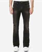 Buffalo David Bitton Men's King-X Slim-Fit Bootcut Destroyed Jeans