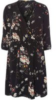 Dorothy Perkins Womens **Only Mallory Floral Dress- Black