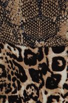 Tracy Reese Printed Neoprene Combo Frock Dress