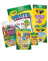 Fashion World Crayola Super Stationary Set