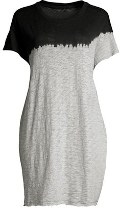 ATM Anthony Thomas Melillo Dip-Dyed T-Shirt Dress