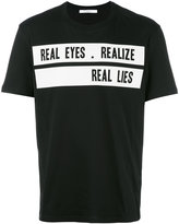 Givenchy 'Real Eyes Realise Real Lies' T-shirt - men - Cotton - XS