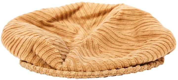 Dolce & Gabbana Camel Cotton Hat