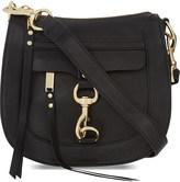 Rebecca Minkoff Dog clip grained leather saddle bag