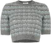 Valentino cropped knit jumper