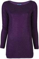 Alice + Olivia Alice+Olivia Crystal tunic sweater