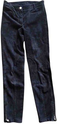 Loro Piana Brown Suede Trousers