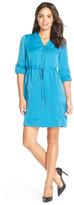 Adrianna Papell 14246100 Front Zip Drawstring Dress