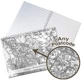 Jonny's Sister Personalised Map Notebook