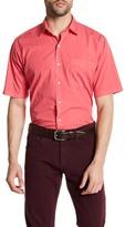 Peter Millar Solid Seaside Garment Regular Fit Dyed Short Sleeve Shirt