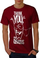 Thank You Mr Obvious Captain Men NEW M T-shirt | Wellcoda