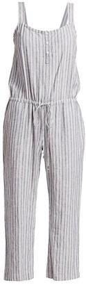 Rails Brooklyn Striped Linen Jumpsuit