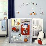 Bedtime Originals 3 Piece Snoopy Sports Bedding Set by