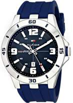 Tommy Hilfiger Men's 1791062 Stainless Steel Watch with Silicone Band