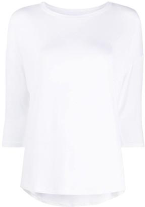 Majestic Filatures three-quarter sleeves T-shirt