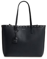 Louise et Cie Yselle Studded Leather Tote - Black