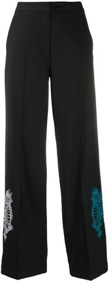 Kirin Wide-Leg Tailored Trousers