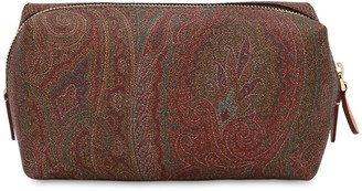 Etro Paisley Print Coated Cotton Makeup Bag
