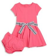 Ralph Lauren Baby's Two-Piece Tie-Waist Dress & Bloomers Set