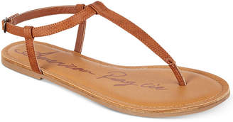 American Rag Krista T-Strap Flat Sandals, Women Shoes