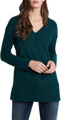 Vince Camuto Cozy V-Neck Tunic Sweater