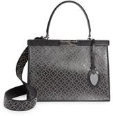Alaia Medium Cecile Studded Leather Satchel