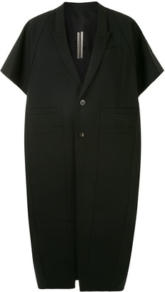 Rick Owens Short Sleeved Cocoon Coat
