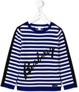Burberry striped jumper