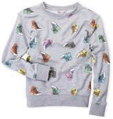 Flowers by Zoe Girls 7-16) Sneaker Sweatshirt