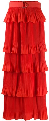 Essentiel Antwerp Layered Plisse Skirt
