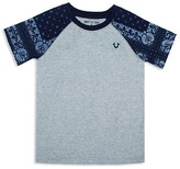 True Religion Boys' Bandana Sleeve Tee - Sizes S-XL