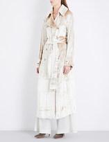 Gabriela Hearst Cabot velvet trench coat