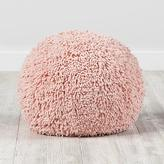 Shaggy Pouf (Pink)