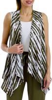 Studio Women's Abstract Print Vest
