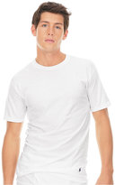 Polo Ralph Lauren Men's Underwear, Big and Tall Classic Cotton Crew T Shirt 2 Pack