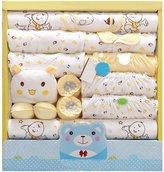 CdyBox 19 Pieces Newborn Essentials Clothes Unisex Baby Layette Gift Sets
