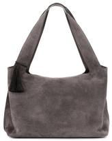 The Row Duplex Suede Shoulder Bag